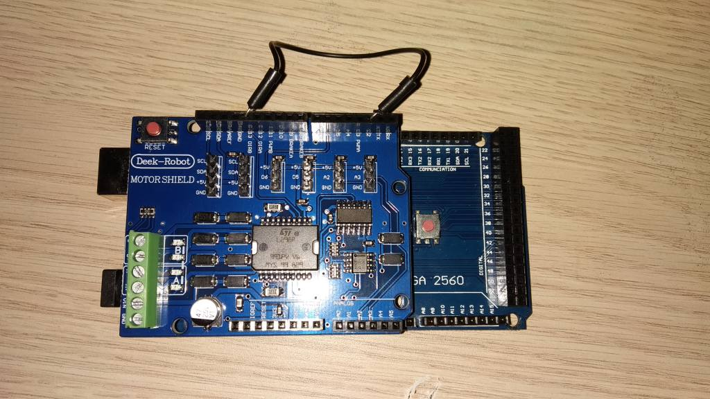 Central digital de trenes a escala con Arduino, DCC++
