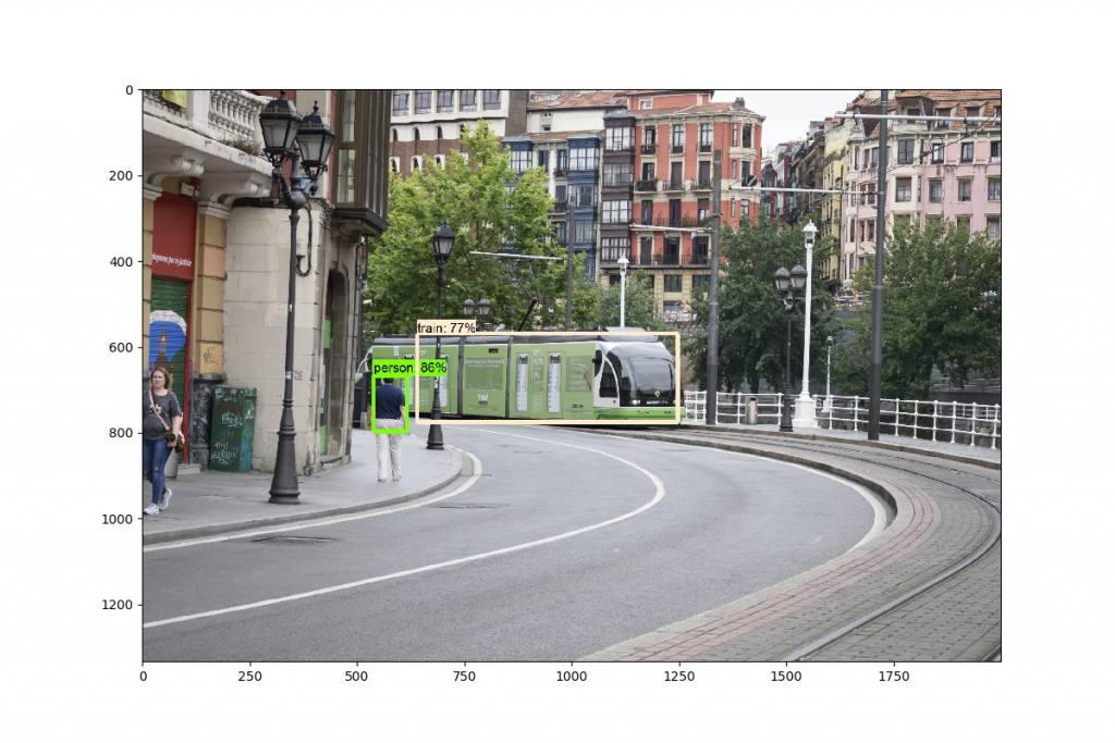 404 de Euskotren llegando a Arriaga. Pasado por FastRCNN